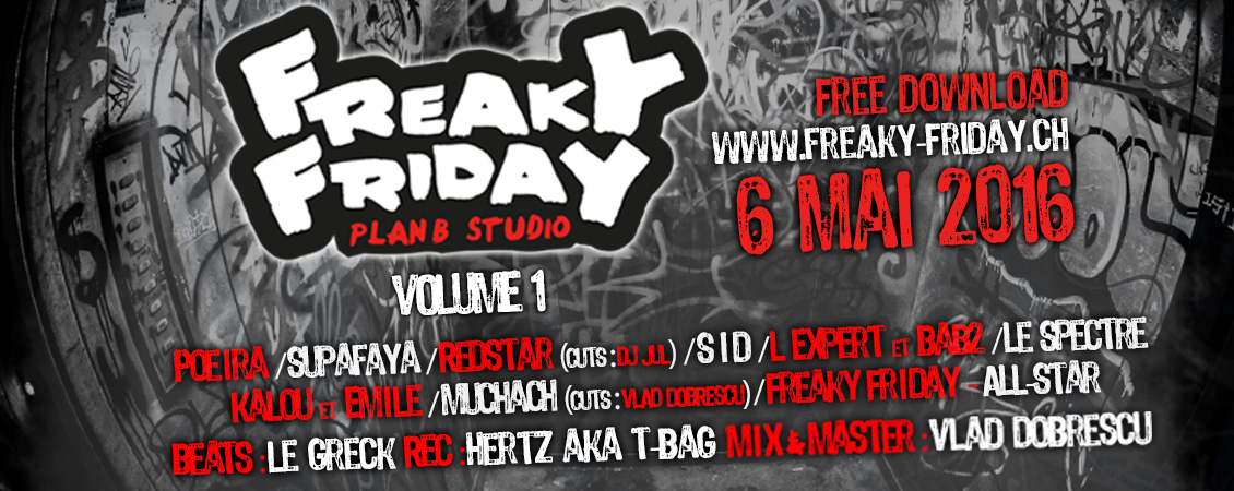 Freaky Friday - Blog - 20160506 - Freaky Friday Volume 1